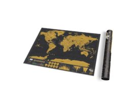 Scratch Map World Deluxe Travel