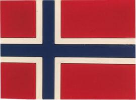 Magnet Norsk Flagg!