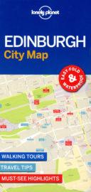 Lonely Planet City Map Edinburgh