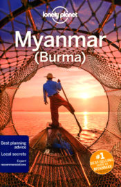 Lonely Planet Travel Guide Myanmar (Burma)