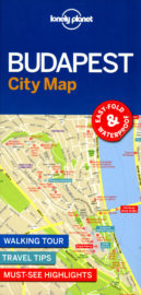 Lonely Planet City Map Budapest