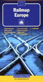 Kümmerly+FreyMap Railmap Europe