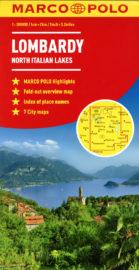 MarcoPoloMap Lombardy North Italian Lakes
