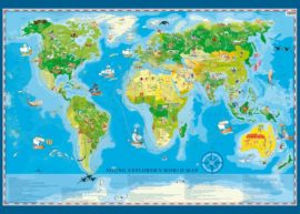 Young Explorer´s World Map