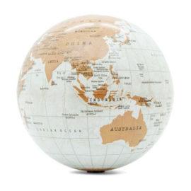 Luckies*revolving Globe