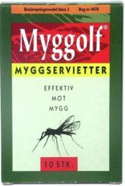 Myggservietter 10Pk