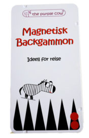 The Purple Cow Magnetisk Backgammon