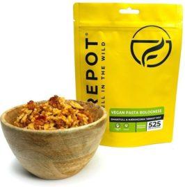 Firepot Vegan Pasta Bolognese