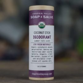 Chagrin Valley Soap And Salve Deodorant Stick Summer Rain