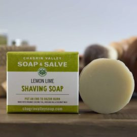 Chagrin Valley Soap And Salve Shaving Soap Lemon Lime