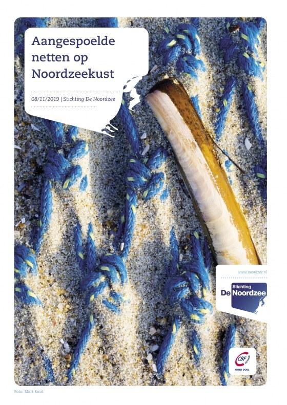 Aangespoelde netten op Noordzeekust – Stichting De Noordzee (2019)-voorkant