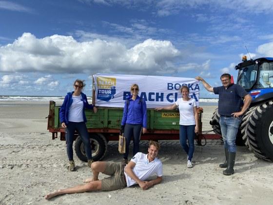 Team op Schiermonnikoog