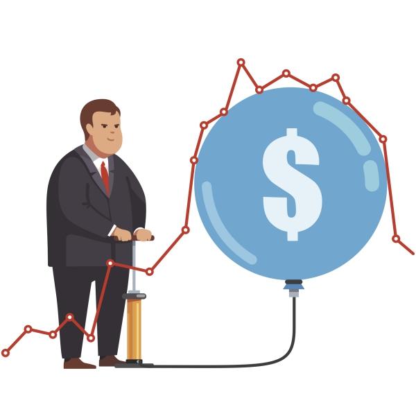 Forstå aktiebobler og hvorfor du altid skal være investeret