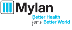 Mylan better health for a better world logo