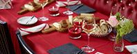 Napkins Banquet rolls