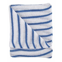 Dishcloths, Stockinette, Reg, (Blue Stripe), 10 Cloths
