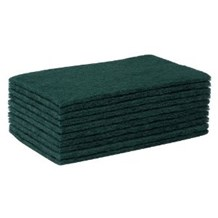 Scourers, Green, 15 x 23cm, Large, 10 Scourers
