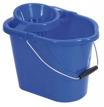 Bucket, Mop, Plastic, Value, 12Ltr, Blue