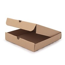"Catering, Pizza Box, 10"" P/Slice, Brown x 100"