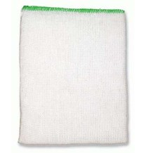 Dishcloths, Stockinette, Reg, Bleached, (Green) 10 Cloths