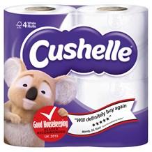 Toilet Rolls, Cushelle, 2Ply White, 40 Rolls