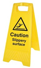 Sign - A Frame, Slippery Surface/Symbol, 67cm