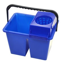 Bucket, Freedom Twin, Double Sided, 10Ltr, Blue