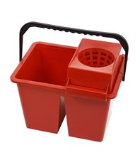 Bucket, Freedom Twin, Double Sided, 10Ltr, Red