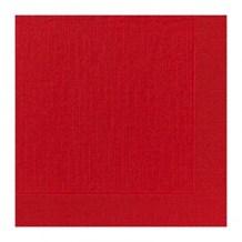 Napkins, Dunilin, 40cm, Red, 600
