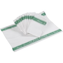 Cloths, Glass, Linen Union, Green, 10 Pack