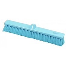 Brush, Hygiene, Sweeping Broom, Soft, Blue, 500mm x 75mm