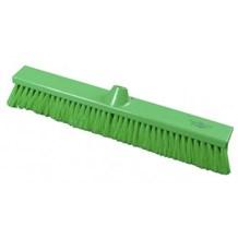 Brush, Hygiene, Sweeping Broom, Soft, Green, 500mm x 75mm