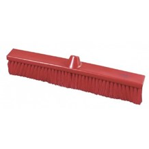 Brush, Hygiene, Sweeping Broom, Soft, Red, 500mm x 75mm