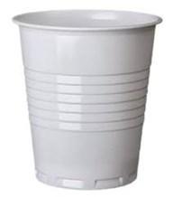 Cups, Plastic, 7oz, Non Vend, Squat, White, 2000