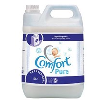 Laundry, Fabric Conditioner, Comfort Pure, 5 Ltr