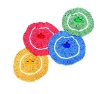 Mop Heads, SYRTEX, Mini, Yellow Yarn