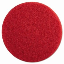 "Floor Pads, British Nova, Red, 17"", (432mm), 5 Pads"