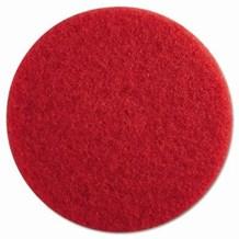 "Floor Pads, British Nova, Red, 20"", (508mm), 5 Pads"