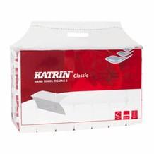 Handtowels, i-fold, Katrin 61694, 2ply  White, 3024