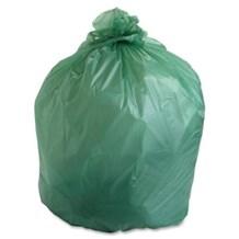 Refuse Sacks, Green, 18x29x38, 200 Bags