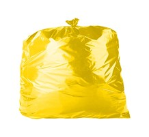Refuse Sacks, Yellow, 18x29x38, 200 Bags