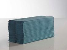 Handtowels, C-Fold, 1Ply Blue,                 23 x 33cm, 2880 Sheet