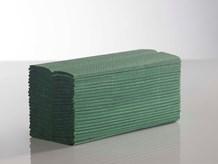 Handtowels, C-Fold, 1Ply Green,              23 x 33cm, 2880 Sheet