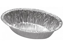 Catering, Foil, AFC Oval Pie Tray, 106x73x26mm, R0710, 2150