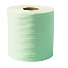 Handwipes, Towel Roll, Green, 76mx200mmx45mm,