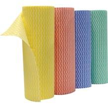 Cloths, Envirolite+, Yellow Lavette Roll, 50 Sheets