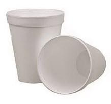 Cups, Foam, White, 7oz, 207ml, 1000