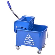 Bucket, Kentucky, Mop/Wringer, Blue, 31 Ltr