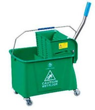 Bucket Kentucky Mop Wringer Green 31 Ltr