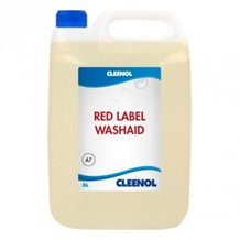 Dishwash Liquid, Cleenol, Red Label, Washaid, 5Ltr
